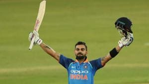 Virat Kohli's 35th century helped India crush South Africa by eight wickets to win the six-match ODI series 5-1. Get highlights of India vs South Africa 6th ODI at Centurion.(BCCI)
