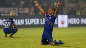 ISL: Mumbai City FC leave it late to floor NorthEast United FC