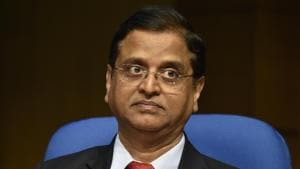 Subhash Chandra Garg, DEA secretary, said the government expects an additional dividend from the RBI by March 31.(Mohd Zakir/HT PHOTO)