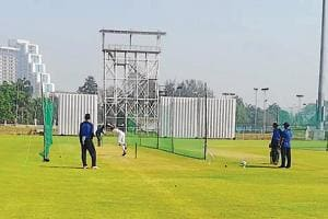 The stadium will also host a cricket series between under-17 teams of Afghanistan and Bangladesh, who have been practising at the Shaheed Vijay Singh Pathik Sports Complex