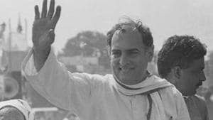 Former prime minister Rajiv Gandhi was assassinated during an election rally on the night of May 21, 1991 in Tamil Nadu by a woman suicide bomber identified as Dhanu.(HT File Photo)