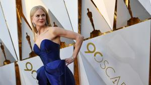 Nicole Kidman arrives for the 90th Annual Academy Awards on March 4, 2018, in California.(AFP)