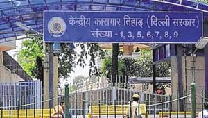 Tihar Jail officials have built welfare fund by deducting 25% of daily wages earned by all convicts.(HT File Photo)