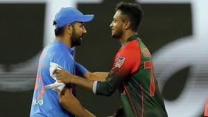 Wanted Dinesh Karthik to finish off game vs Bangladesh: Rohit Sharma