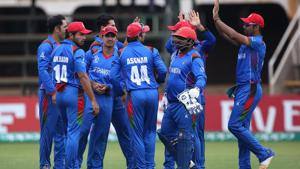 Afghanistan joined the West Indies as the 10th and final team for the ICC Cricket World Cup 2019 after beating Ireland by five wickets.(ICC)
