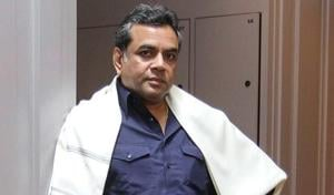 Actor Paresh Rawal staged the play Kishan Vs Kanhaiya in the Capital.