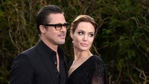 Brad Pitt and Angelina Jolie met on the set of Mr & Mrs Smith, while he was still married to Jennifer Aniston.