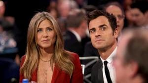 Jennifer Aniston and Justin Theroux separated after two years of marriage.(AFP)