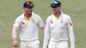 The ICC's latest announcement comes in the wake of the ball-tampering scandal in Cape Town, which resulted in Cricket Australia handing out bans to sacked Australia captain Steve Smith, David Warner and Cameron Bancroft (not in pic).(Twitter)