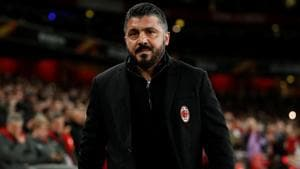 Juventus have lost just once in Serie A at home since 2015 and Gennaro Gattuso is under no illusions about the task facing AC Milan this Saturday.(Action Images via Reuters)
