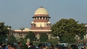 A view of the Supreme Court of India.(PTI FILE)