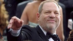 In this 2015 file photo, media mogul Harvey Weinstein arrives at the Oscars at the Dolby Theatre in Los Angeles.(Vince Bucci/Invision/AP)