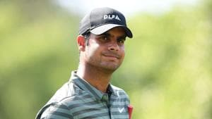 Shubhankar Sharma, a two-time winner on Asian and European Tours, was one-over 73 on first day as he missed the cut in his first-ever Houston Open.(AFP)