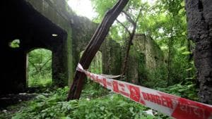 The spot where a photojournalist was gang-raped by two minors, including Jadhav, and four adults in 2013.(HT File Photo)