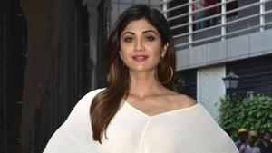 If you're bored of wearing predictable denim shorts on hot days, Shilpa Shetty Kundra has the cure. The actor stepped out wearing a denim miniskirt that's just as summery as denim shorts. (IANS)