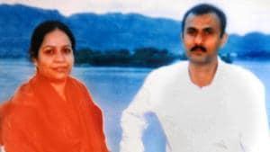 Naginbhai Rathod, a teacher, was the CBI's key witness in the Sohrabuddin Shaikh encounter case.(HT File)
