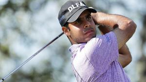 Shubhankar Sharma is enjoying a brilliant run of form and the Augusta Masters invite was a huge achievement for the golfer.(AFP)