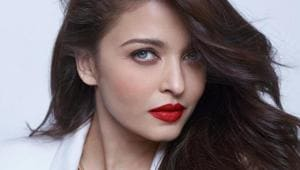 Aishwarya Rai features on the cover of Vogue India's April issue.