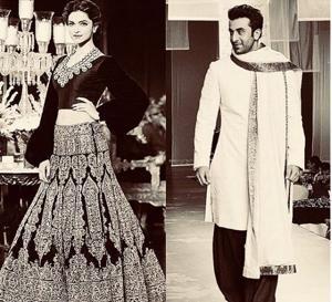Mijwan fashion show will have Deepika Padukone and Ranbir Kapoor as Manish Malhotra's 'muses'.(Manishmalhotra05/Instagram)