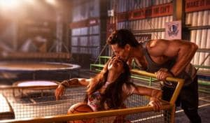 Tiger Shroff and Disha Patani in a handout picture from Baaghi 2.