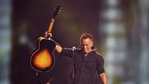 Bruce Springsteen performs during the closing ceremony for the Invictus Games in Toronto. Populism is damaging the core of the American identity. It seeks to build walls to keep out immigrants, not motivated by reasonable immigration policy, but instead by animus and anxiety(REUTERS FILE)