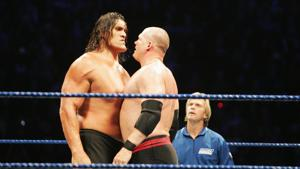 The Great Khali (L) was the most prominent Indian to be part of the WWE.(Getty Images)