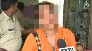 The 18-year-old woman had accused a BJP MLA of rape in 2017.(ANI photo)