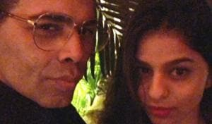 Karan Johar finds new student in Suhana Khan, trains her to pout. See pic