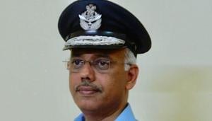 Air Marshal IP Vipin.(HT PHOTO)