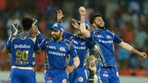 Mumbai Indians (MI) will take on Delhi Daredevils (DD) in their third game of IPL 2018 at the Wankhede Stadium on Saturday.(AFP)