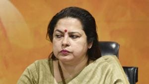 BJP spokesperson Meenakshi Lekhi was accused of being insensitive for her remarks(Sanchit Khanna/ HT File Photo)