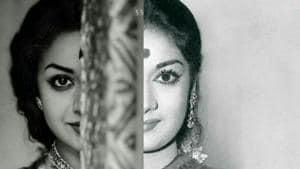 Mahanati teaser: Keerthy Suresh plays the role of Savitri in the bilingual biopic.