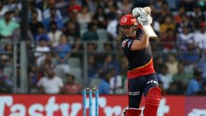 Jason Roy in action during match nine of the 2018 Indian Premier League between Mumbai Indians and Delhi Daredevils at the Wankhede Stadium on Saturday. Get highlights of the IPL 2018 clash between Mumbai Indians (MI) and Delhi Daredevils (DD) here(BCCI)