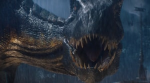 Jurassic World: Fallen Kingdom seems like a combination of a disaster movie and a horror film.