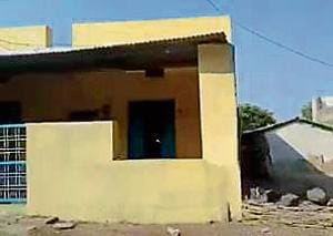 Bhawani Mandi, the village in Jhalawar dictrict in Rajasthan which has become the focal point for the Mumbai ANC.(HT Photo)