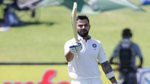 Virat Kohli , Indian cricket team captain, is likely to join English county side Surrey for a brief stint in June after of the Test tour.(AFP)