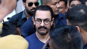 Aamir Khan will work with Fatima Sana Sheikh, Katrina Kaif and Amitabh Bachchan.(AFP)