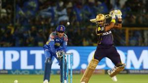 Robin Uthappa in action during match fifteen of the 2018 Indian Premier League 2018 (IPL 2018) between Rajasthan Royals and Kolkata Knight Riders at the The Sawai Mansingh Stadium in Jaipur. Follow highlights of Rajasthan Royals (RR) vs (KKR) Kolkata Knight Riders, Indian Premier League (IPL) 2018 match at the Sawai Mansingh Stadium, Jaipur here(BCCI)