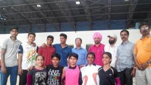 Players that appeared for GFI trials in Mohali will not be able to compete at junior Asian Championships(HT Photo)