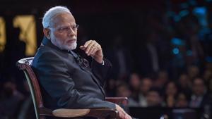 At the 'Bharat Ki Baat, Sabke Saath' event in London on Wednesday, Prime Minister Narendra Modi accused Pakistan of exporting terror.(PTI)