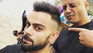 The 'undercut' was the go-to choice last season, but not this time. The 'fade' haircut is the flavour of the season with the likes of Virat Kohli, Yuvraj Singh, and the Pandya brothers (Hardik and Krunal) flaunting it.(Instagram/virat.kohli)