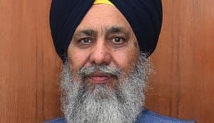 SGPC president Gobind Singh Longowal(HT FIle)