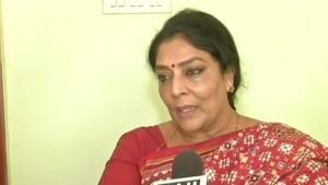 Renuka Chowdhary urged that India should stand up and said #MeToo.(ANI Photo)
