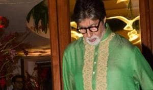 Amitabh Bachchan has shared the first look from his new film. It could be Brahmastra or Thugs of Hindostan - the two films we know he is working on.(IANS)