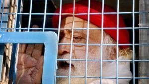 Self-styled godman Asaram was sentenced to life imprisonment by a Jodhpur court on Wednesday.(PTI File)