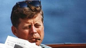 US President John F. Kennedy in an undated photograph courtesy of the John F. Kennedy Presidential Library and Museum.(Reuters File Photo)