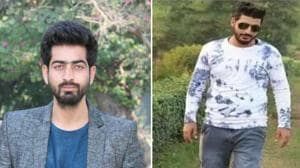 The two suspected 'pro-Pakistan' hackers have been identified as Shahid Malla and Adil Hussain Teli.(ANI Twitter)