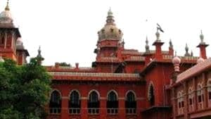 A file photo of Madras high court.(PTI photo)