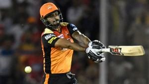 Sunrisers Hyderabad's Deepak Hooda says he is not perturbed by the ups and downs in his career.(AFP)