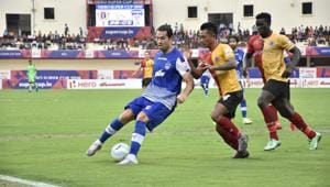 Bengaluru FC defeated East Bengal to win the inaugural Super Cup in Bhubaneswar on April 20.(AIFF)